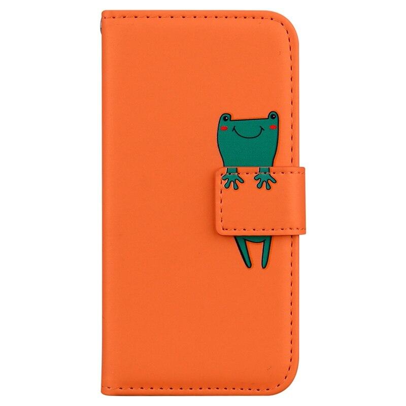 3D Cartoon Animal Flip Case For Samsung Galaxy Note 10 Lite S7 S8 S9 S10 S20 Plus J3 J5 J7 2017 EU J4 J6 PU Leather Wallet Cover