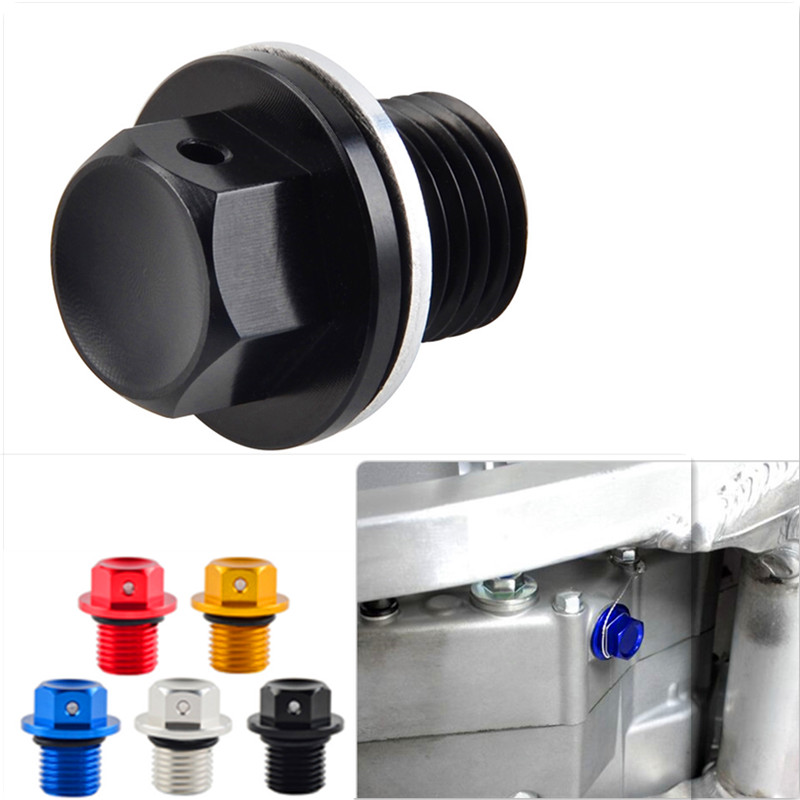 M14XP1.5 Magnetic Oil Drain Plug Nut Bolt For <font><b>Beta</b></font> <font><b>RR</b></font> 4T 350 <font><b>400</b></font> 450 498 Racing 2T 250 300 Racing Xtrainer Enduro 300 2013-2020 image