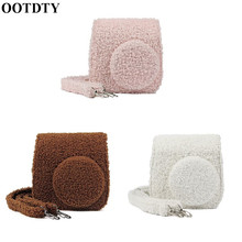 OOTDTY 暖かいぬいぐるみ保護バッグ肩富士フイルム Mini8/8 +/Mini9