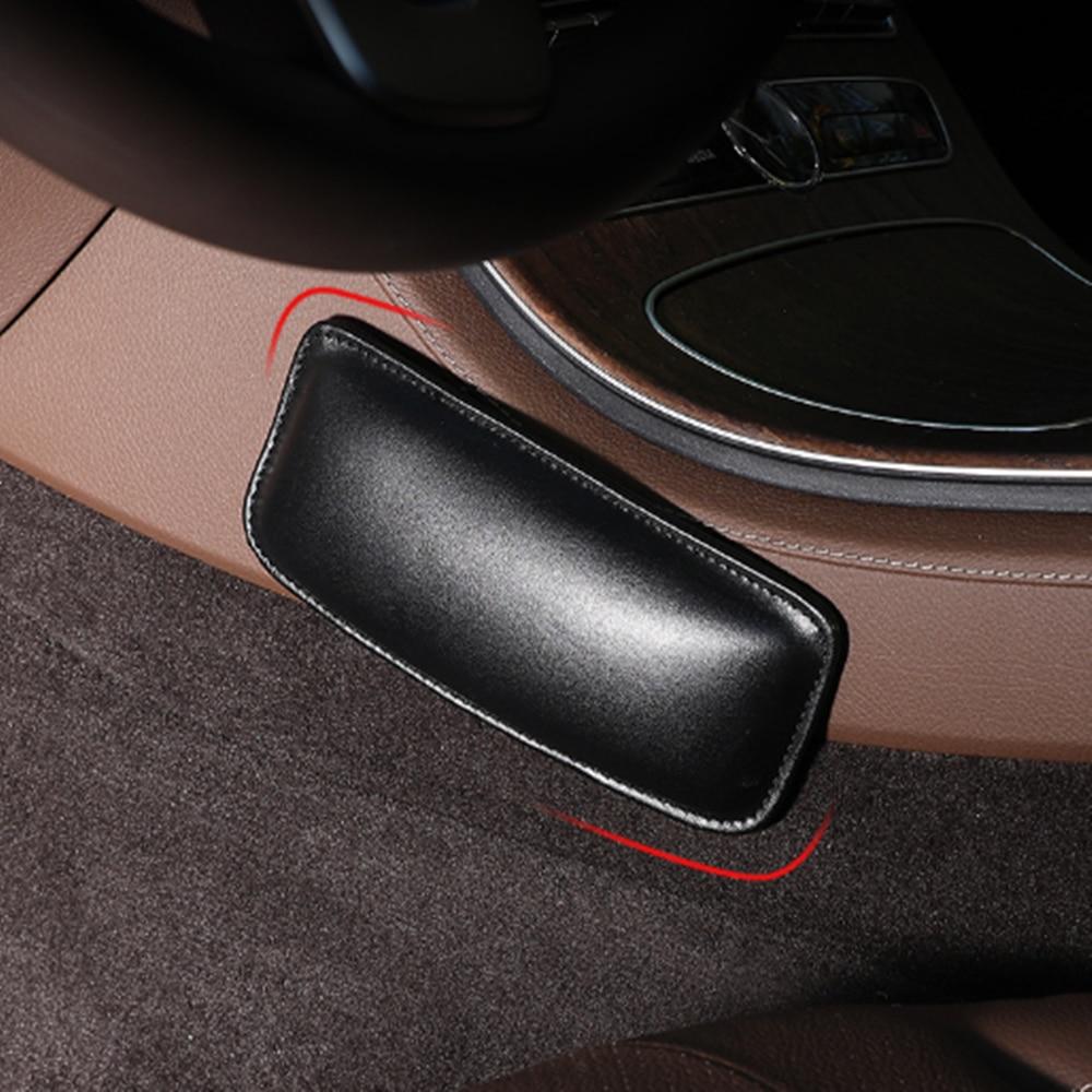 Car Cushion Thigh Support Knee Pad Interior Universal Accessories Soft For Nissan Nismo Qashqai Tiida Teana Skyline Juke X-Trail