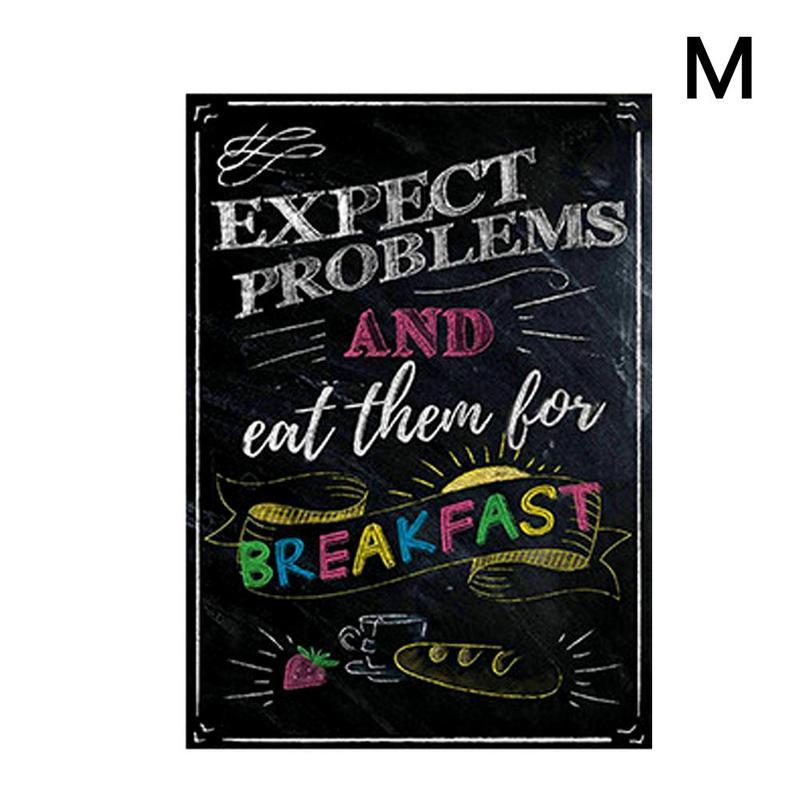 Вдохновляющий постер на английском языке, картина, мотивационный плакат, школьная офисная классная комната, для стен, картины для школьников, школьниц - Цвет: M