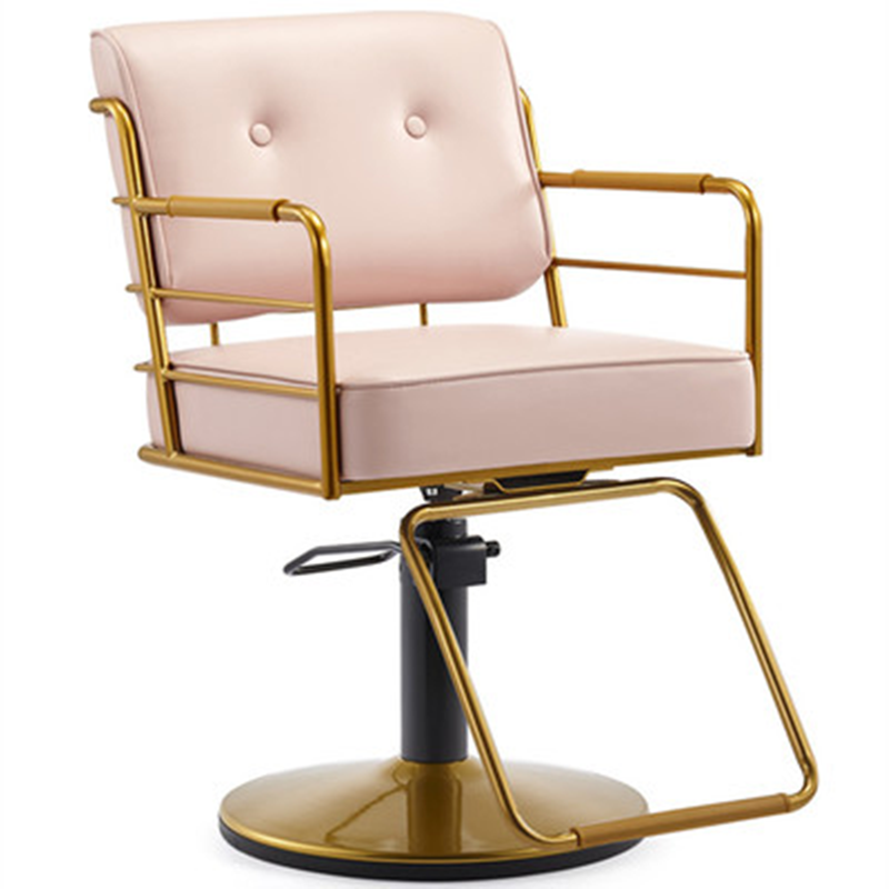 Insbarber Shop Lift Down High-grade Hair Cutting And Ironing Dyeing Chair Hairdressing Chair Salon Dedicated Simple Stool