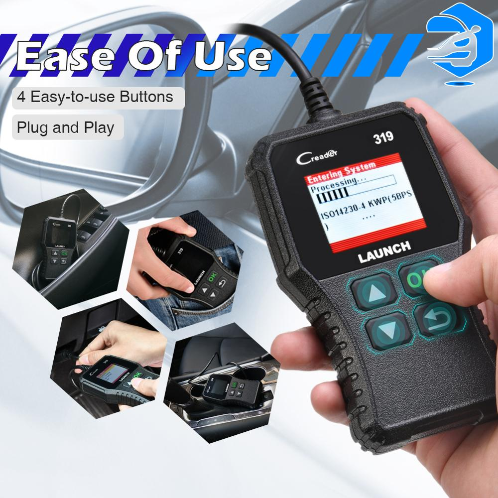 lowest price LAUNCH X431 CRP479 OBD2 Car Diagnostic Tool Engine WIFI Automotive Scanner ABS TPMS DPF EPB Reset OBD2 Scanner LAUNCH PK CRP429C