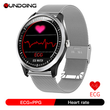 RUNDOING N58 ECG PPG smart watch with electrocardiograph ecg display holter ecg heart rate monitor blood pressure smartwatch