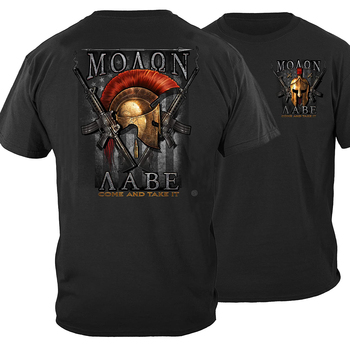 2nd Amendment T-Shirt Molon Labe Cotton O-Neck Short Sleeve Men's T Shirt New Size S-3XL giant bicycles mountains bikes t shirt s to 3xl
