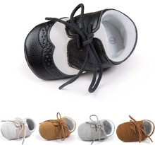 Baby Shoes PU Leather Baby Boy Girl Shoes Baby Moccasins Moccs Shoes Bow Fringe Soft Soled Non-slip Footwear Crib Shoes