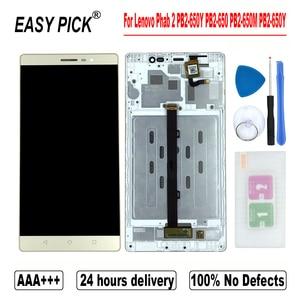 Image 1 - Dành Cho Lenovo Phab 2 PB2 650Y PB2 650 PB2 650M PB2 650Y Màn Hình Hiển Thị LCD Bộ Số Hóa Cảm Ứng Thay Thế