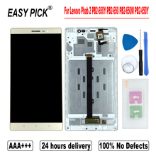 For Lenovo Phab 2 PB2 650Y PB2 650 PB2 650M PB2 650Y LCD Display Touch Screen Digitizer Assembly Replacement