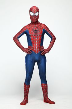Kids Anime Spider Man Spiderman Costume Fancy Dress Adult And Children Halloween Costume Red Black Spandex 3d Cosplay Clothing children halloween avengers hulk incredibles spiderman deadpool muscle costume and mask superheroes carnival cosplay fancy dress