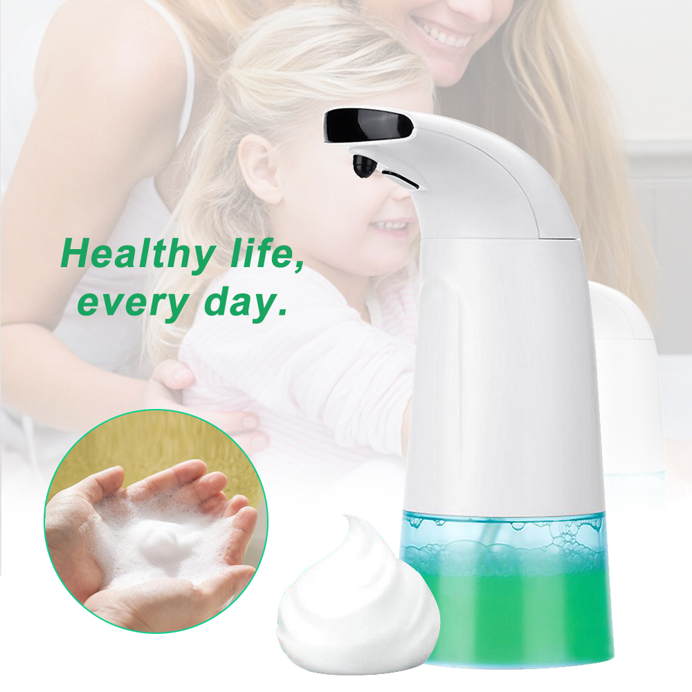 Automatic Touchless Soap Dispenser Foam Washing Foaming Dispenser Dishes Bath
