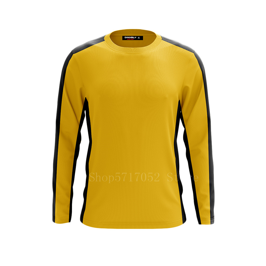 Bruce Lee Uniformes De Kung Fu Amarillo Clásico Para Hombre Disfraz De Cosplay Chino Juego De Chándal De Muerte Camiseta De Entrenamiento Jeet Kune Do Conjuntos Aliexpress