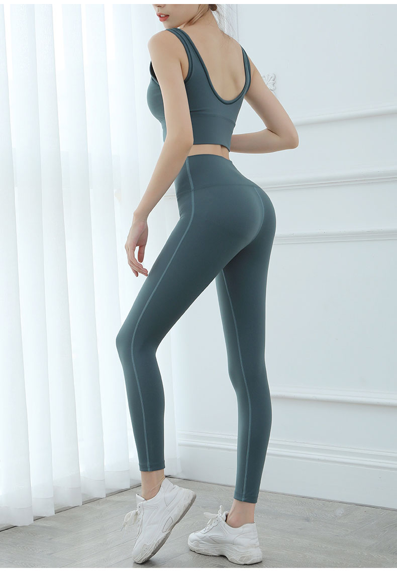 Yoga Set Women Sport Suit Gym Set Gym Clothing Sportswear Fitness Wear Fitness Suit Yoga Clothes Tracksuit Sports Bra 2 Pcs Suit Buy At The Price Of 18 10 In Aliexpress Com Imall Com