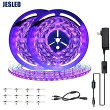 JESLED 12V UV Led Strip 5050SMD 10M Tape Ambilight Neon Lights Room Desktop PC Screen Backlight Lighting Decoracion Lamp