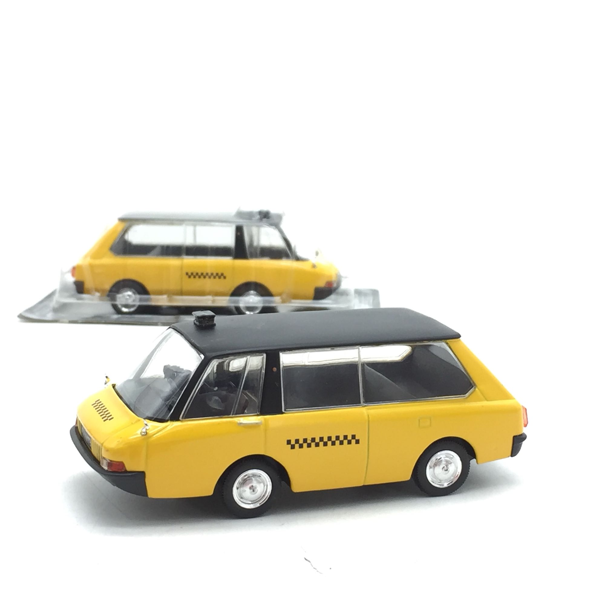 1:43 The Soviet Union Taxi Alloy Car Collection Home Decoration Model Toys 10cm