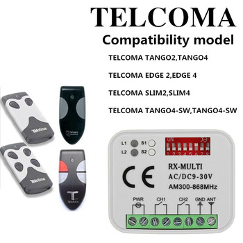 цена на TELCOMA EDGE 2 remote control receiver 433.92Mhz TELCOMA EDGE 2 gate garage door opener garage command remote garage
