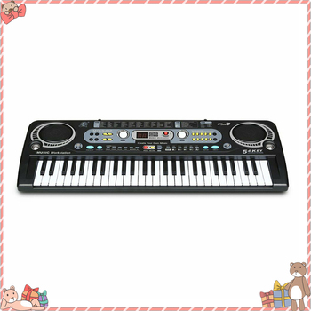 54 Key Keyboard Toy For Children Learning Exercising USB Charging Keyboard Toy With Microphone Electronic Children Keyboard Gift