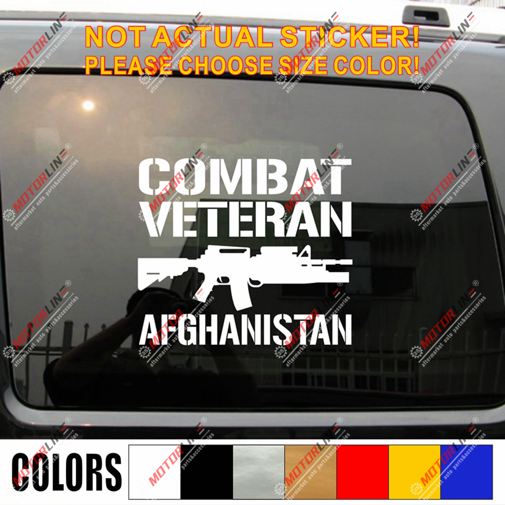Vietnam Veteran Decal Sticker Car Vinyl pick size color no bkgrd