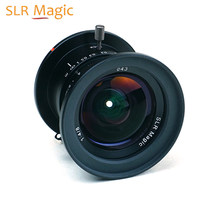 SLR Magic 8mm f/4.0 Lens için mikro dört Thirds M4/3 kameralar Panasonic Olympus vs 7 esnaf kamera lens