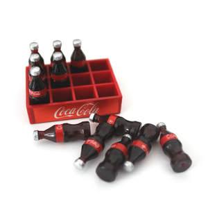 Beads Plasticine Slime-Accessories Making-Supplies Cola-Bottle Miniature A Dozen Resin