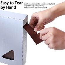 Sandpaper Dry Matte Belt Box Roll Soft Sand Cloth Grinding DIY Polishing Emery Roll