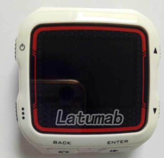 Latumab original para garmin forerunner 920xt 920 xt gps assista frente caso capa de vidro com tela lcd