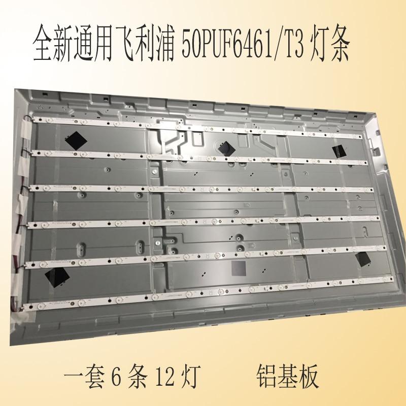 12Pieces/lot   FOR  50PUF6461/T3 LCD Backlight Bar LB-PF3030-GJABL500612AFB2-R-H     100%NEW