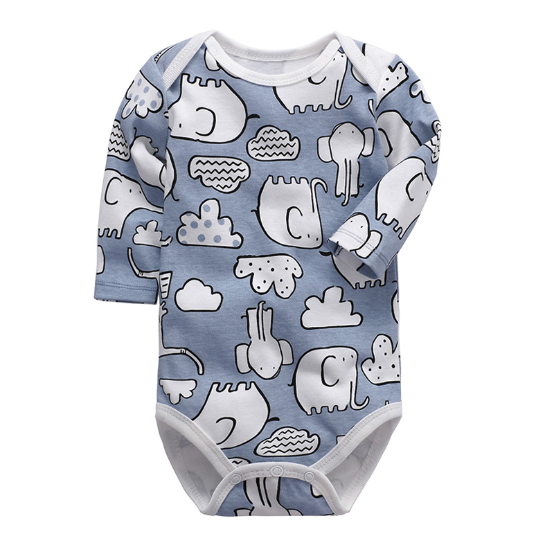Baby Clothing Newborn Babies Bodysuit Long Sleeve 3-24 Months Infant Boys Girls Clothes