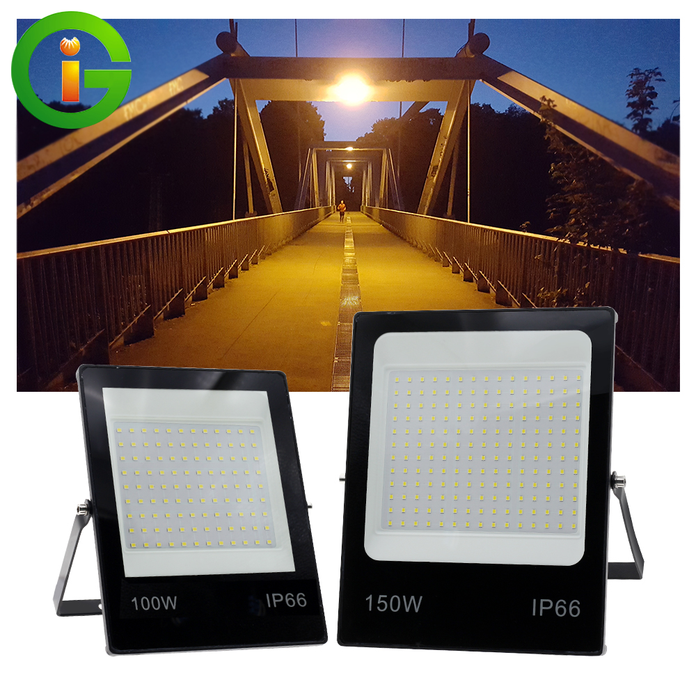 220V LED Flood Light High Brightness10W 20W 30W 50W 100W 150W Reflector LED FloodLight Waterproof Spotlight Outdoor Lighting