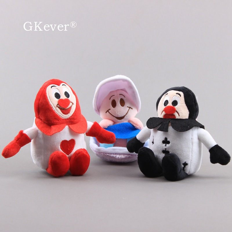 10-12cm Young Oyster Baby Plush Toy Doll Cartoon Anime Red And Black Ace Of Spades Stuffed Animals Toys Children Baby Gift