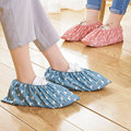 Flamingo Staub Proof Füße Abdeckungen Mehrweg Elastische Schuh Abdeckung Student Maschine Zimmer Füße Abdeckung Dicke Verschleiß-beständig Fuß Abdeckung heißer