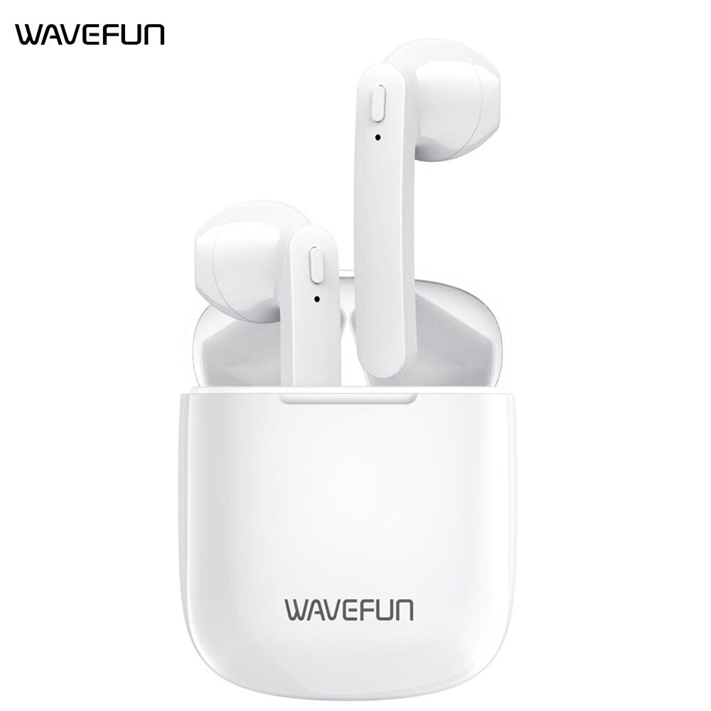 Wavefun v semi-aberto fones de ouvido sem fio bluetooth airoha 1536u bluetooth 5.0 fone de ouvido tws vagens esportes fones de ouvido com microfone