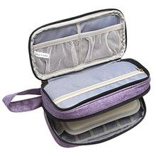 Essential Oil Carrying Case - Holds 12 Bottles 5ml-15ml Essential Oil Storage Bag For Essential Oil And Small Accessories clinique 5ml 15ml
