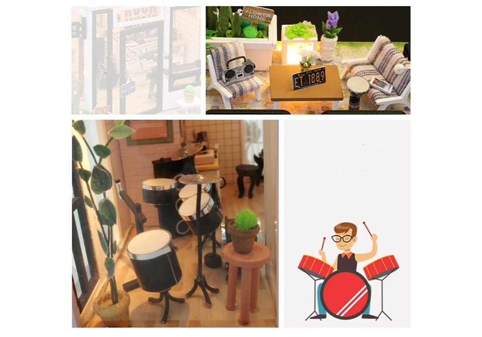 H3dfe9f08922244f991f41923e6ace65fL - Robotime - DIY Models, DIY Miniature Houses, 3d Wooden Puzzle