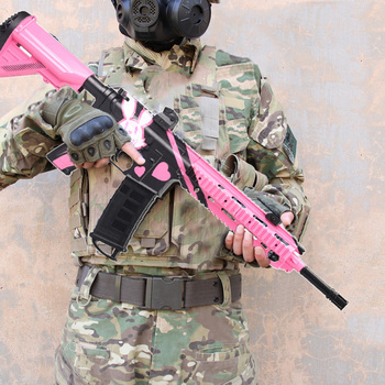 Children's Outdoor Electric Blaster Water Gun Toy M416 Sniper Rifle Submachine Gun Soft Gel Ball Bullet Toy Guns Christmas Gifts
