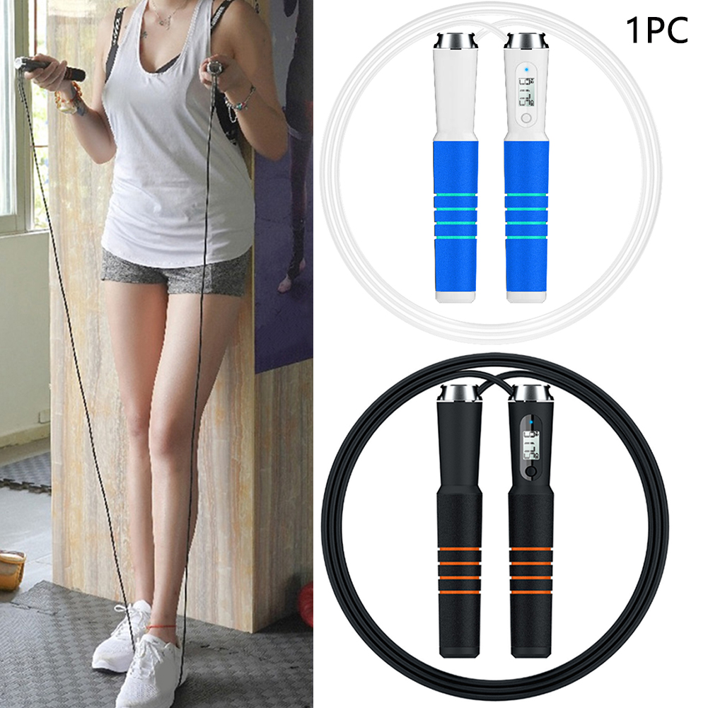 Speed Counter Reminder Smart Skipping Rope Intelligent Kids Adult Calorie Alarm Non-Slip APP Bluetooth 4.0 Digital Exercise image