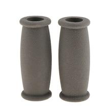 Мягкий резиновый костыль рукоятка Крышка Уокер рукоятка защитная накладка подушка Противоскользящий рукоятка для костыля колодки улучшение подвижности подушка для рук
