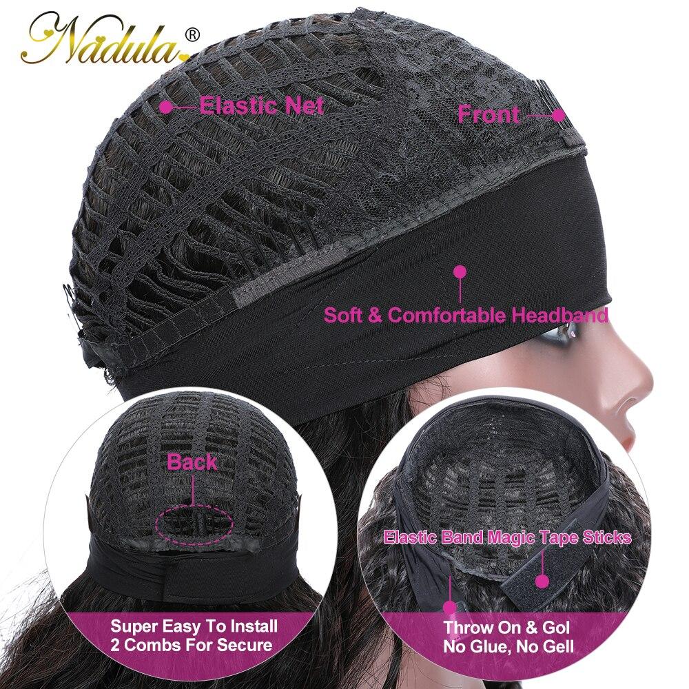 Nadula Curly Headband Wig  Long Curly  Wig with Headband  Wig 100%  Headband Wig 4