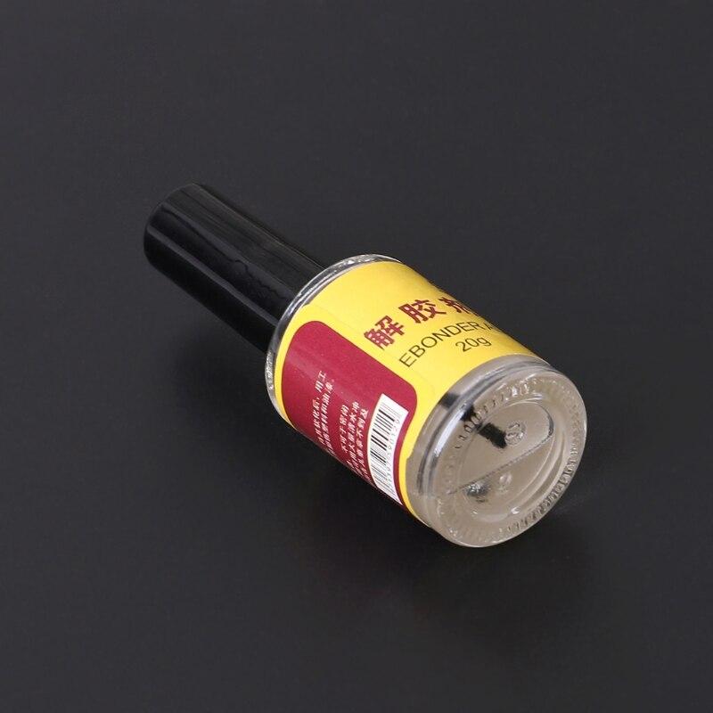 20g Glue Adhesive Superglue Remover Cleaner Debonder Bottle For UV Epoxy Resin DXAC