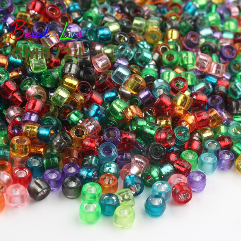 Freeshipping Jewelry Making DIY 100pcs 6mm Round Luminous Glow Beads Crafts
