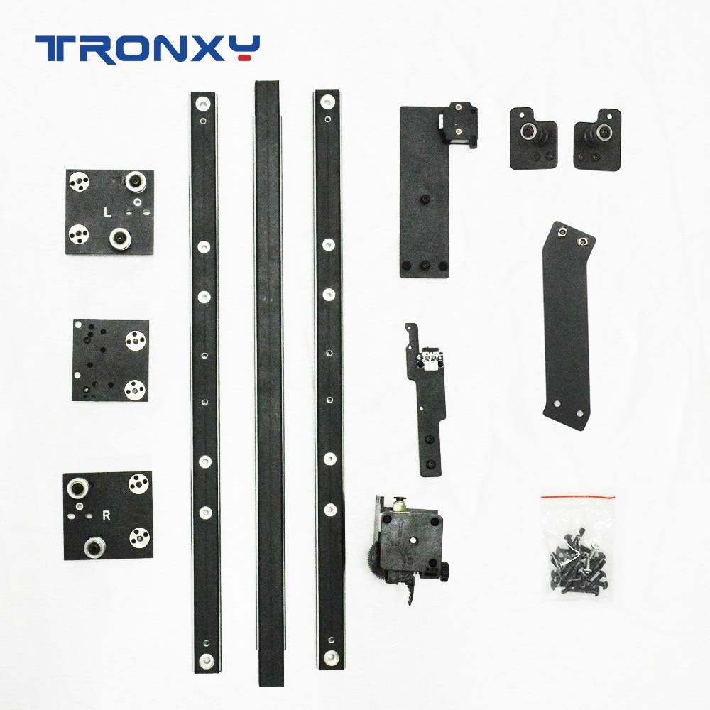 Tronxy 3D Printer Upgrade Kits X5SA To X5SA PRO Parts XY Axis Guide Rail Titan Extruder High Quality Print TPU Flexible Filament