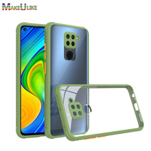 Anti-Fall Clear Case For Xiaomi Redmi Note 9S 9T 8 9 Pro 8Pro 9Pro Max Case Hard Cover