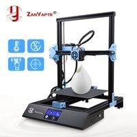 Tela sensível ao toque ZY 01 * 220*220mm da impressora da elevada precisão do metal completo de zanyaptr 3d impressora 270|Impressoras 3D| |  -