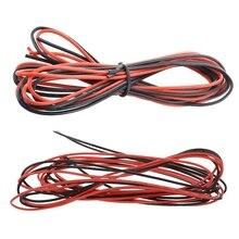 2x3 м 18 калибр и 2x3 м 16 Калибр AWG силиконовый резиновый провод кабель красный черный гибкий