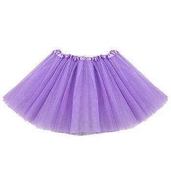 Fashion Sweet Girls Skirt Net Yarn Mini Girls Tutu Skirt Dance Wear Princess Ball Gown Skirt 7 Color
