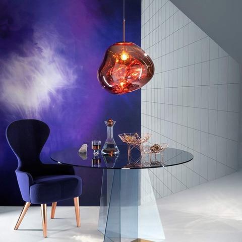 luminaria suspensa com design de lava instalacao de restaurante nordica luzes pendentes de iluminacao para