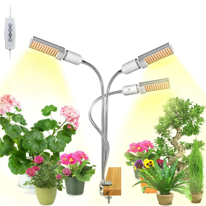 LED Grow Lights For Indoor Plants 45W Dimmable Sunlike Plant Lights Professional Sunlight Grow Lamp For Plants Seedlings Growing