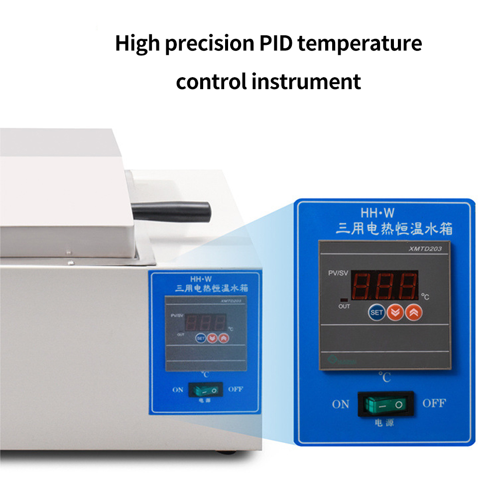 Digital display electric heating constant three water tanks Constant temperature water bath high precision temperatu control - 6