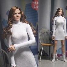 1/6 женский свитер одежда с высоким воротником костюм для тела