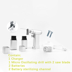 Electric bone Hand Saw Sagittal Saw Oscillating Saw orthopedic Autoclavable  veterinary equipment instruments