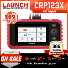 LAUNCH X431 CRP123X OBD2 Scanner Code Reader Car Diagnostic Tool ENG AT ABS SRS WIFI Diagnostic Scanner OBD Automotive Launch